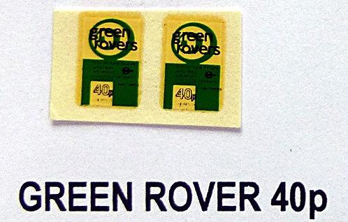 Green Rover 40p