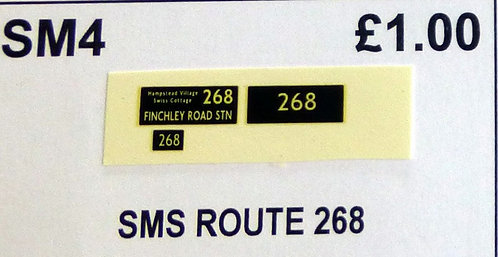 SM / SMS Route 268