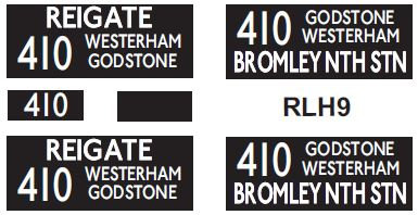 NEW RLH Blinds Route 410