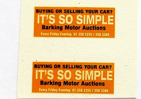 Barking Motor Auctions