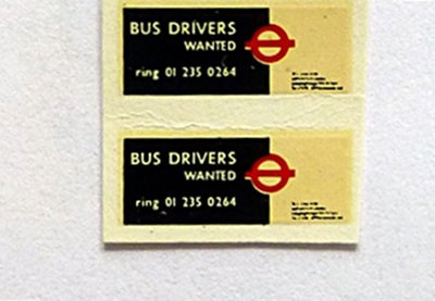 Bus Drivers Wanted