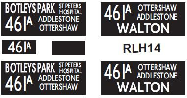 NEW RLH Blinds Route 461A