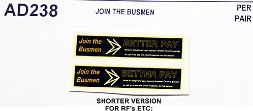 Join The Busmen