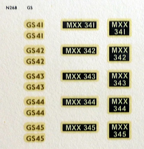 Gold GS41, GS42, GS43, GS44, GS45