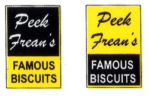 PEAK FREANS FRONT ADVERTS