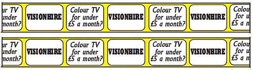SIDE ADVERTS VISIONHIRE