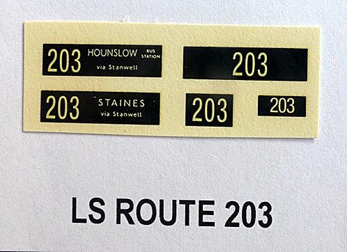 LS Route 203