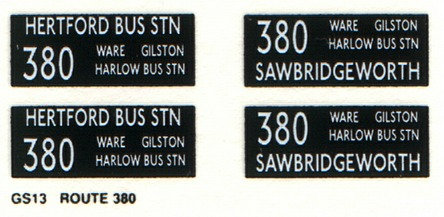 GS Route 380