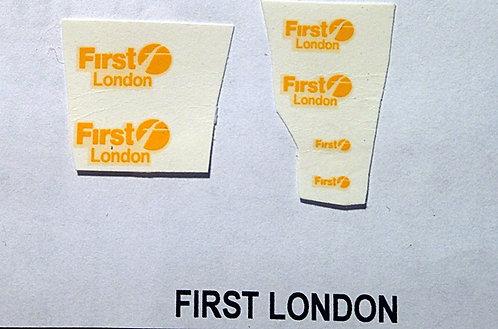 Fleet Name Sets  First London