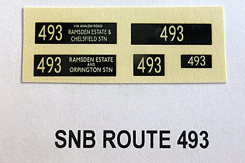 SNB Route 493