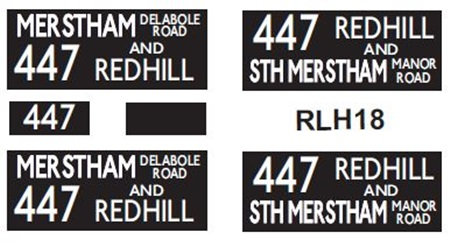 NEW RLH Blinds Route 447