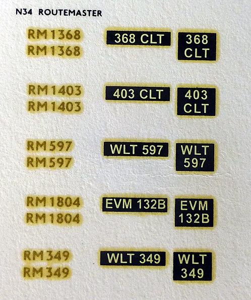 Gold RM1368, RM1403, RM597, RM1804, RM349
