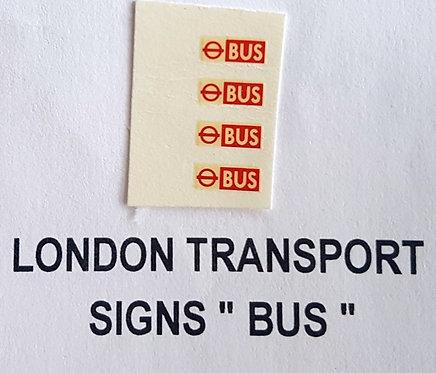 Misc: L.T. Service Signs (BUS)