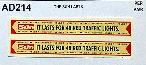 The Sun  Lasts