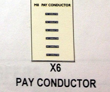 Misc:  Pay Conductor