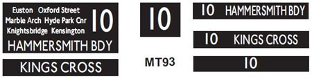 New M / T  Blinds Route 10