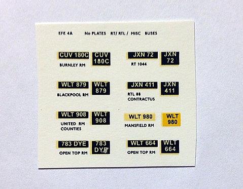 EFE Number Plates
