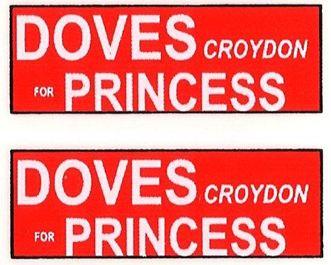 DOVES PRINCESS REAR ADVERT