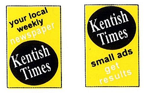 KENTISH TIMES FRONT ADVERTS