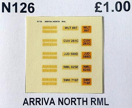 White RML897, RML2261, RML2588, RML2625, RML2716