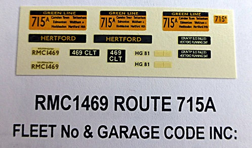 RMC Green Line Blinds Route 715A