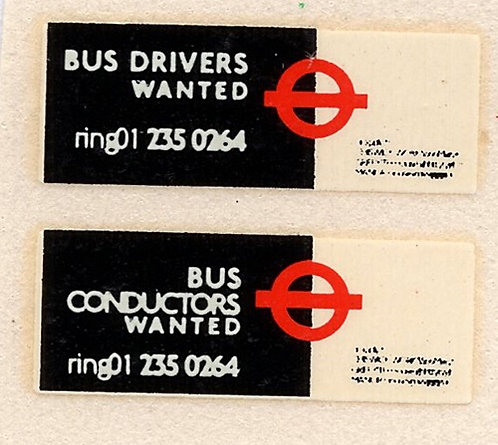 Drivers/Conductors Wanted