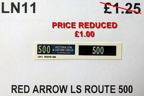 LS Route Red Arrow 500