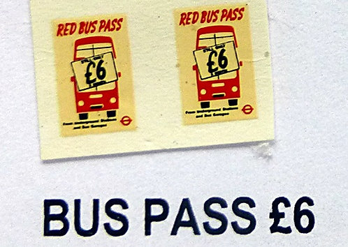 Bus Pass £6.00