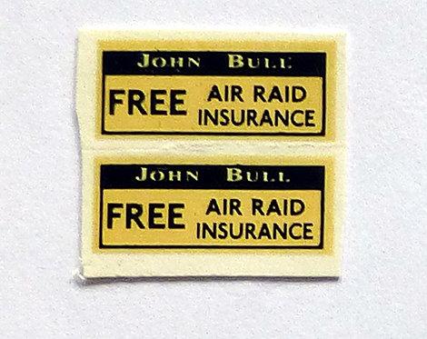 Free Air Raid Insurance