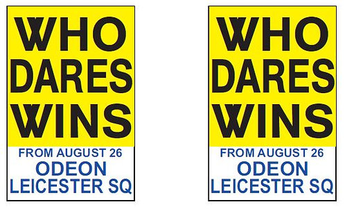 FRONT AND REARS WHO DARES