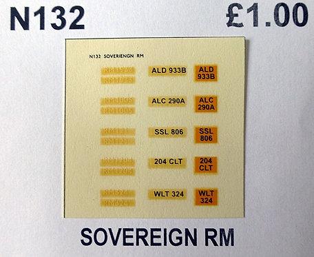 White RM1933, RM1005, RM121, RM1204, RM324