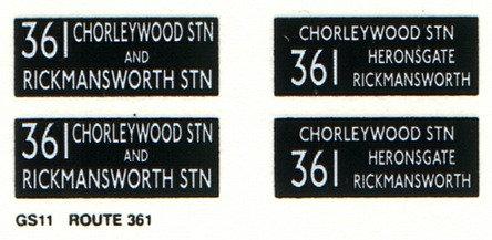 GS Route 361