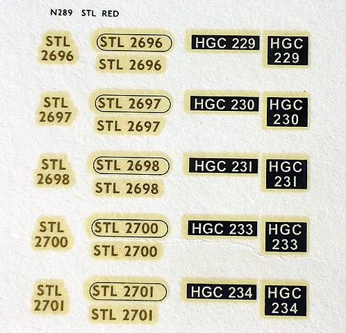 Gold STL2696, STL2697, STL2698, STL2700, STL2701