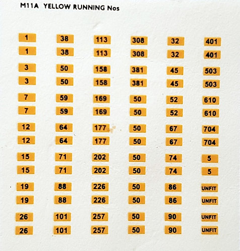 Running Number Transfers