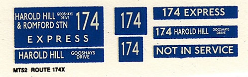 M / T Route 174 Express