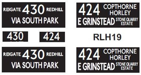 NEW RLH Blinds Routes 424/430