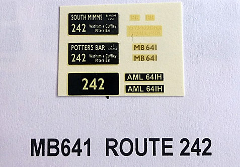 MB Route 242 (MB641)