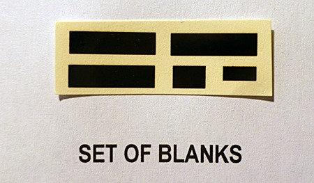 BLANK BLINDS