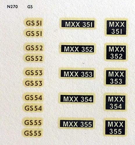 Gold GS51, GS52, GS53, GS54, GS55