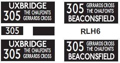 NEW RLH Blinds Route 305
