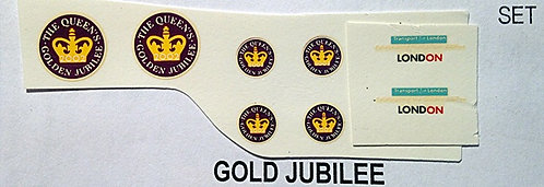 Fleet Name Sets  Gold Jubilee
