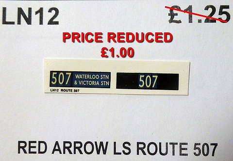 LS Route Red Arrow 507