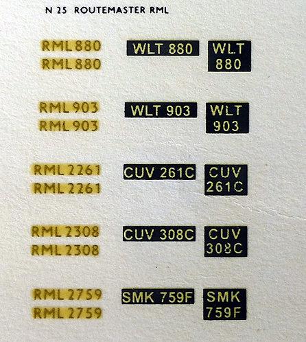 Gold RML880, RML903, RML2261, RML2308, RML2759