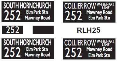 NEW RLH Blinds Route 252