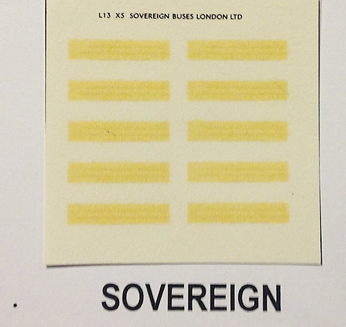 Legal Lettering  Sovereign