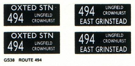 GS Route 494