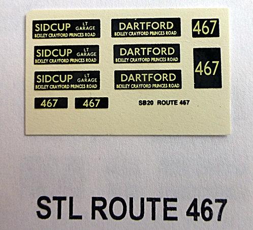 STL Route 467