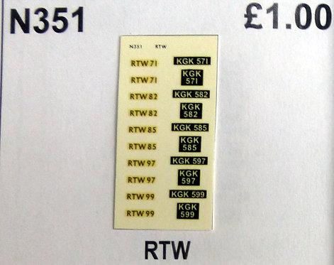 Gold RTW71, RTW82, RTW85, RTW97, RTW99