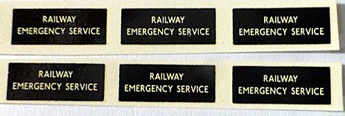 RF Rail Emergency Service
