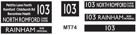 M / T   Route 103
